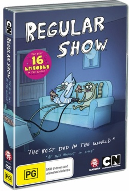 Hey Australia! Win REGULAR SHOW: THE BEST DVD IN THE WORLD*