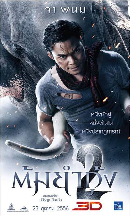 Tony Hugs An Elephant In New Poster For TOM YUM GOONG 2