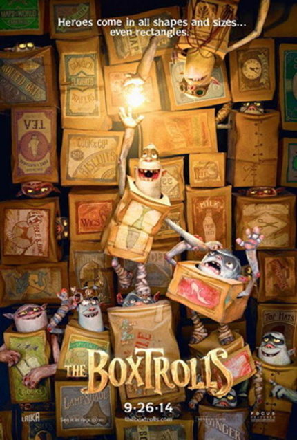 There Are All Kinds of Parents Shown in the Teaser for Laika's THE BOX TROLLS