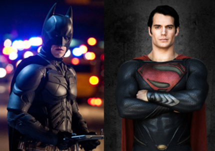 Batman And Superman Together in MAN OF STEEL 2!