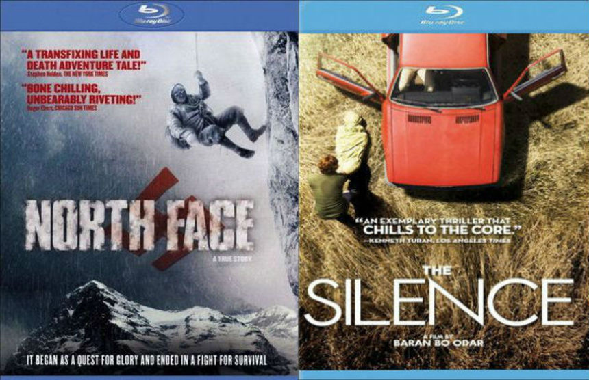 Giveaway: Win A Bundle Of Despair Blu-ray Prize Packs - Copies Of NORTH FACE And THE SILENCE From Music Box Films