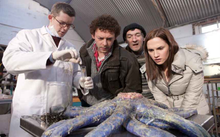 Review: GRABBERS Scratches The Horror-Comedy Sweet Spot