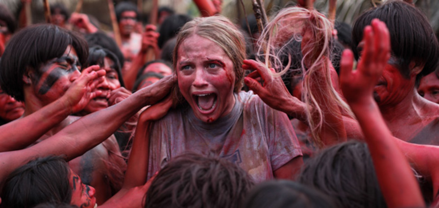 Eli Roth's Cannibal Horror THE GREEN INFERNO Gets A Chilling New Teaser!