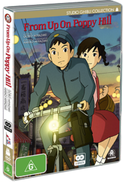Hey Australia! Win Ghibli's Latest FROM UP ON POPPY HILL On DVD Or Blu-ray!