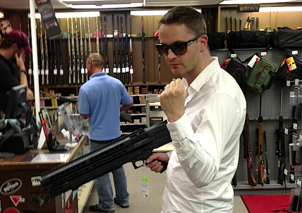 5 Days Of Refn: At Home On The (Gun) Range In Austin, TX