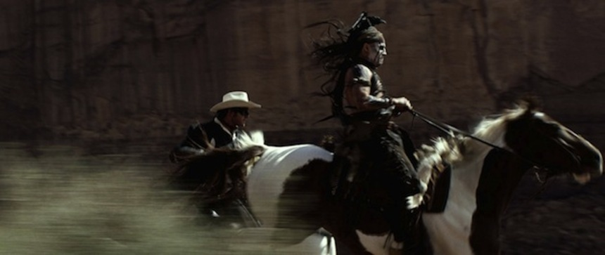 Review: THE LONE RANGER Rides Hard Against History