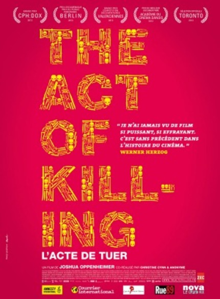 Drafthouse Films Releases THE ACT OF KILLING For Free In Indonesia