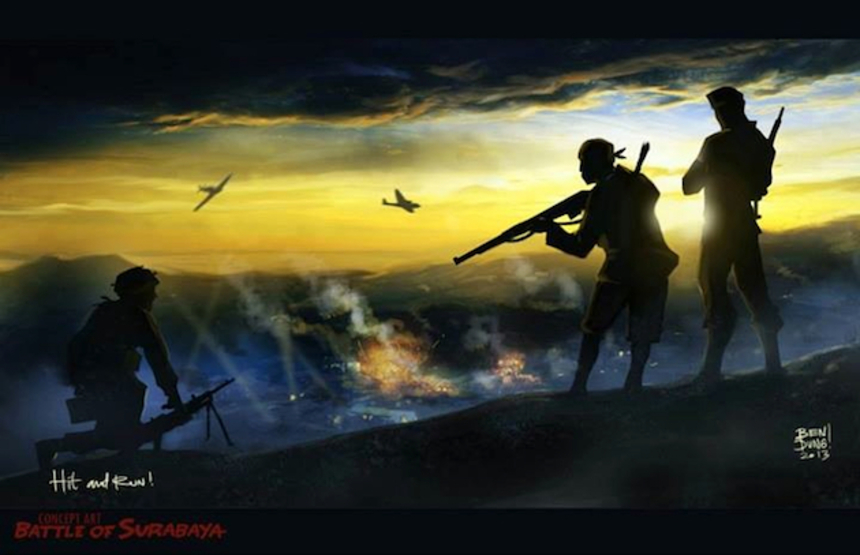 Indonesia's First 2D Animated Feature BATTLE OF SURABAYA To Be Released In Theatres In 2014