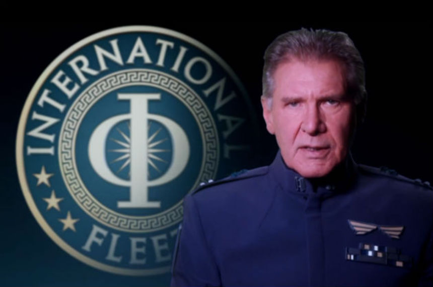 ENDER'S GAME Belongs To Harrison Ford, According To New Trailer