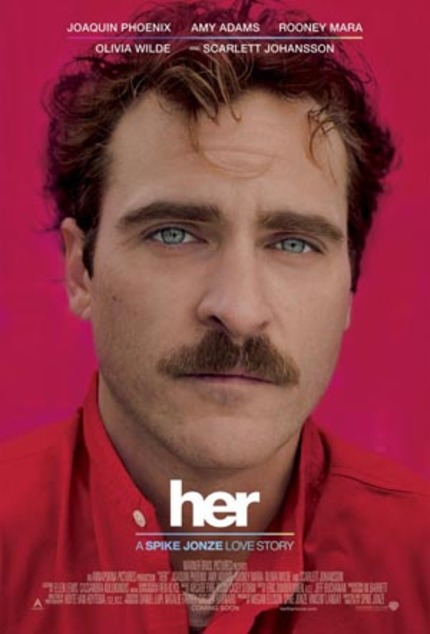 First Astounding Trailer for Spike Jonze's HER