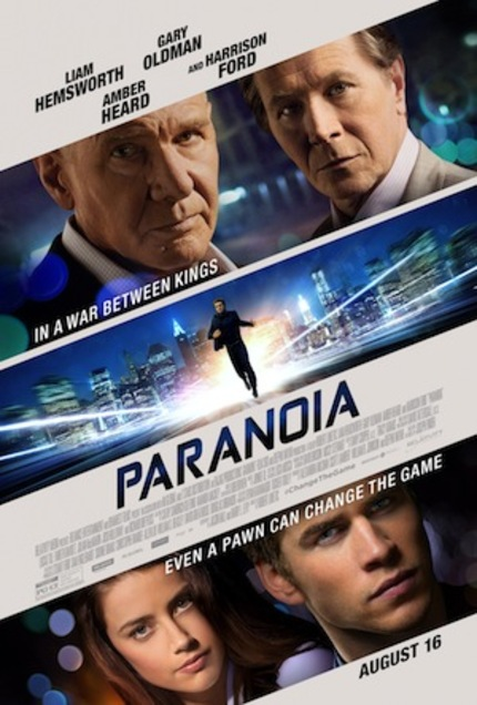Hey, NYC! Win Tix To See Harrison Ford In PARANOIA