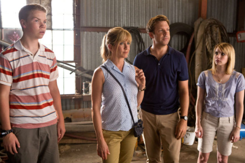 Review: WE'RE THE MILLERS Smuggles a Few Kilos of Laughs Across the Border