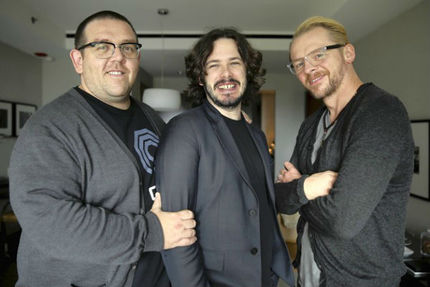 Simon Pegg, Nick Frost, and Edgar Wright Talk THE WORLD'S END