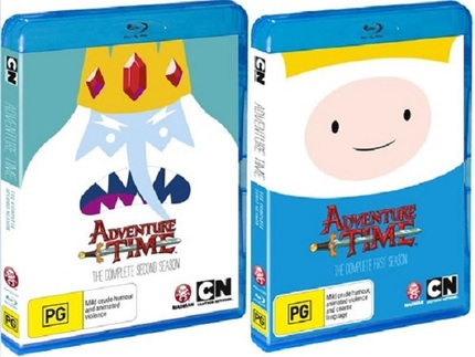 Hey Australia, Go On Some HD Quests And Win ADVENTURE TIME Season 1 And 2 On Blu-ray!