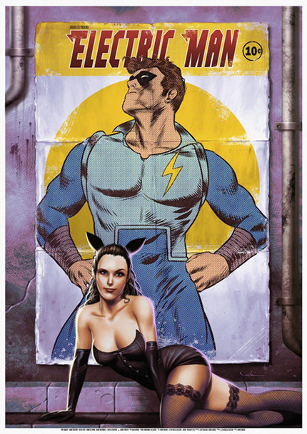 Win A Limited Edition ELECTRIC MAN Poster