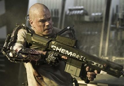 China Box Office: Matt Damon Strikes Back With ELYSIUM