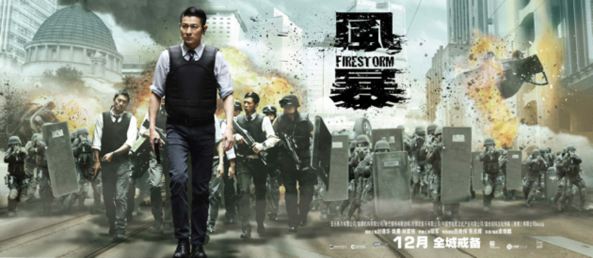 Check Out The Explosive First Trailer For Andy Lau Actioner FIRESTORM