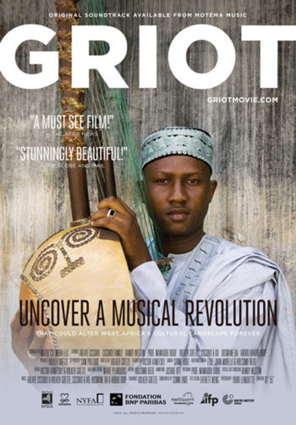 GRIOT Begins Canada Wide Screening And Concert Tour This October.