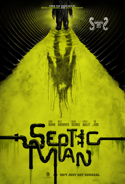 Watch The First Stomach Churning Trailer For SEPTIC MAN!
