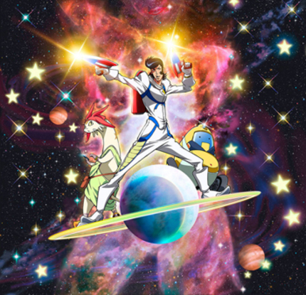 Aliens, Lasers And Space Boobies Galore In SPACE DANDY Trailer
