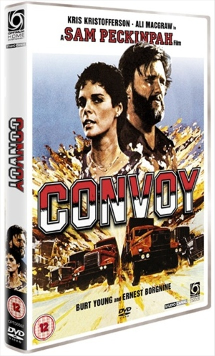 Keep On Truckin' In Hi-Def With The CONVOY (1978) UK Blu-ray
