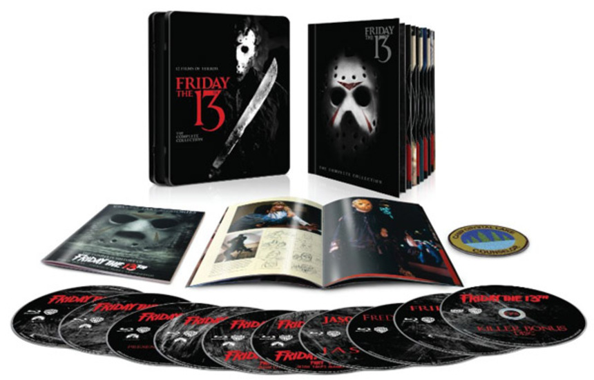 The Stack: FRIDAY THE 13TH THE COMPLETE COLLECTION Blu-ray Tin, WAR WITCH, AN AMERICAN HIPPIE IN ISRAEL, And More