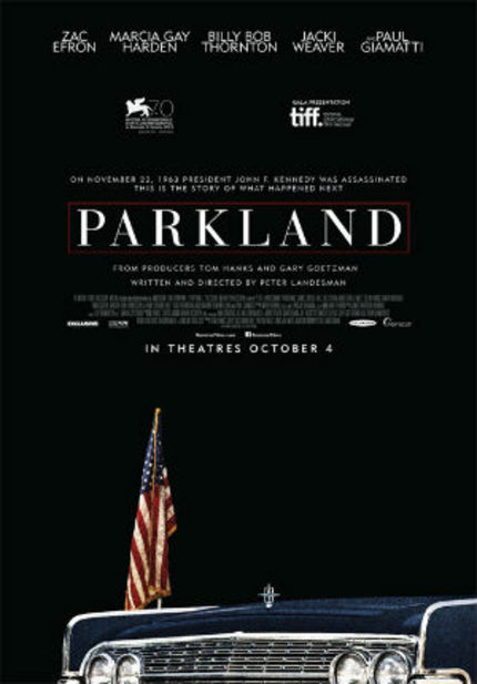 Opening: PARKLAND, A Refreshingly Original Take On The Death Of JFK