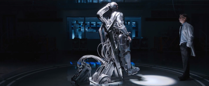 Frankenstein Mechanics: ROBOCOP Trailer Aims For The Grim N' Gritty