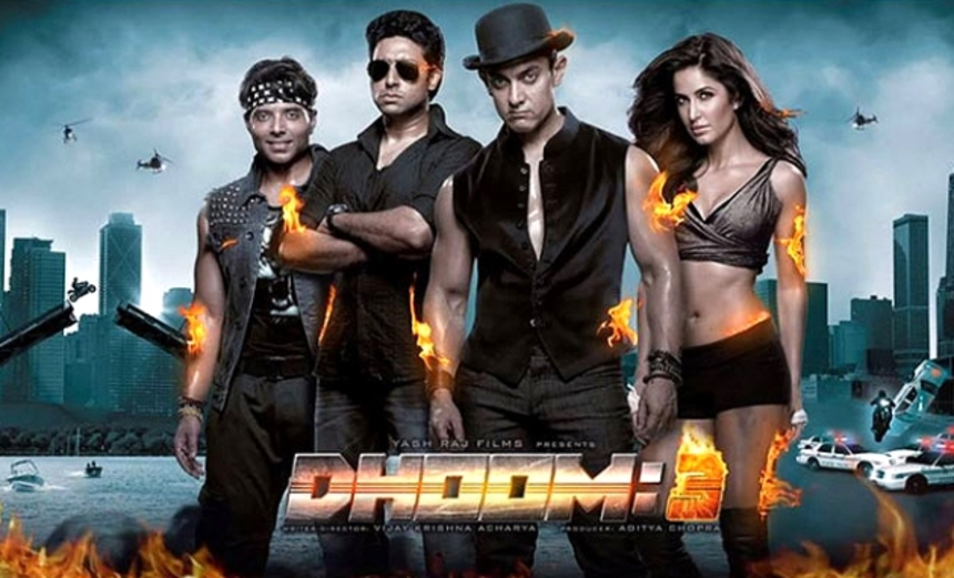 Billions Of Rupees Explode On Screen In The DHOOM 3 Theatrical Trailer