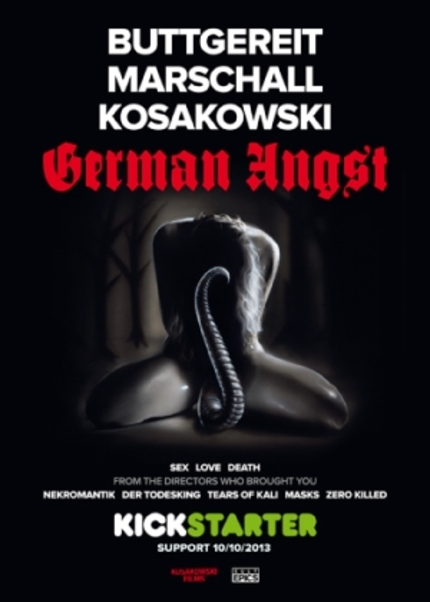 Kickstart This! Horror Anthology GERMAN ANGST Featuring Jorg Buttegereit Needs A Push