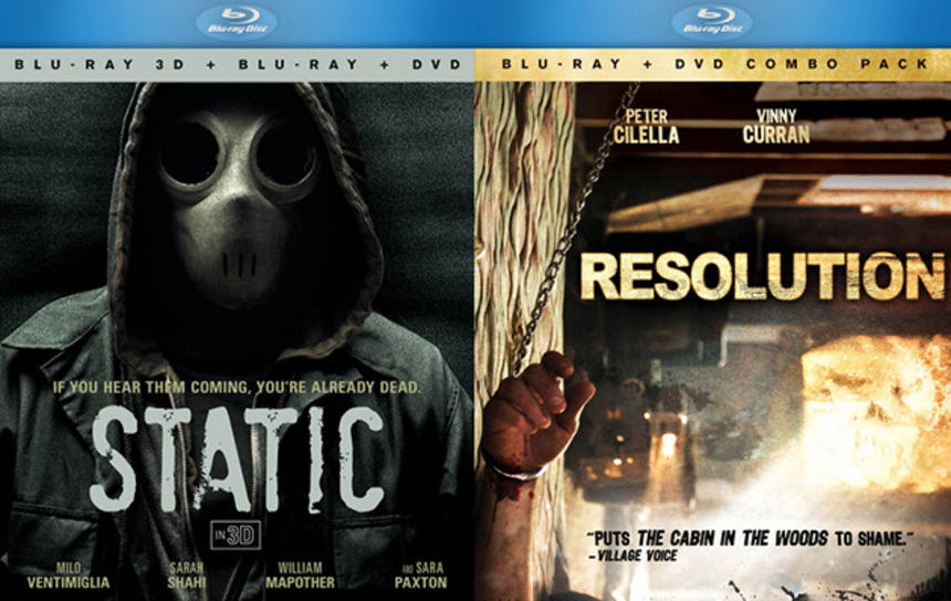 Win RESOLUTION And STATIC On BluRay!