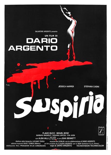Synapse Films Licenses Argento's Ballet Nightmare SUSPIRIA For U.S.