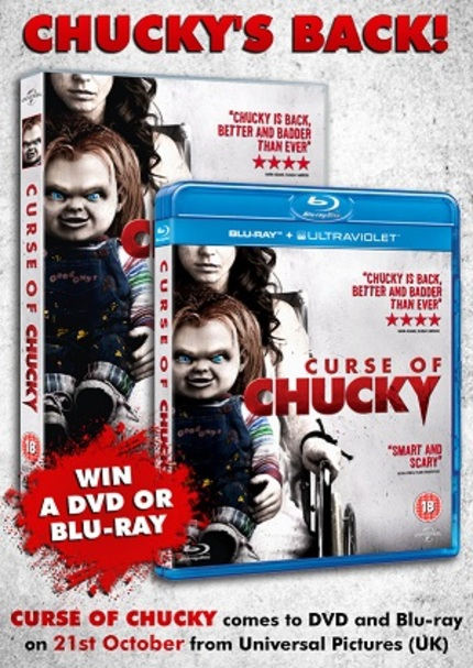 Win CURSE OF CHUCKY on DVD or Blu-ray (UK only)