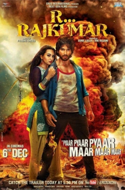 First Look At Prabhu Deva's R... RAJKUMAR Looks Like Every Other Bollywood Action Film