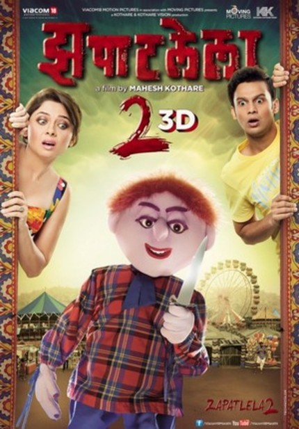 You Must Watch The Trailer For Marathi Horror/Romance/Killer Doll Flick ZAPATLELA 2 3D Now. NOW!