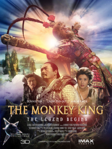 THE MONKEY KING: New Teaser Features Donnie Yen In Action. And Makeup.