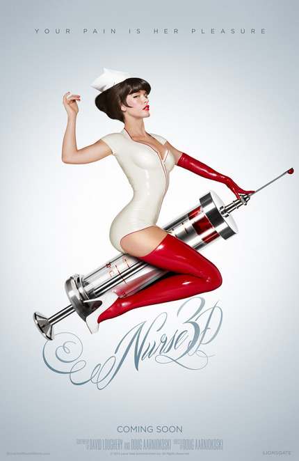 Subtlety, Thy Name Is NURSE 3D. Check The New Poster.