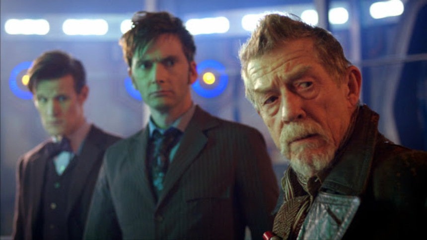 DOCTOR WHO: THE DAY OF THE DOCTOR Aims For Fun And Excitement As The Show Gets Cinematic For Its 50th