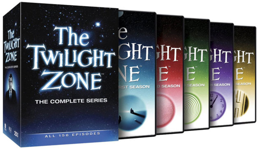 Now on DVD: THE TWILIGHT ZONE The Complete Series (Episodes Only)