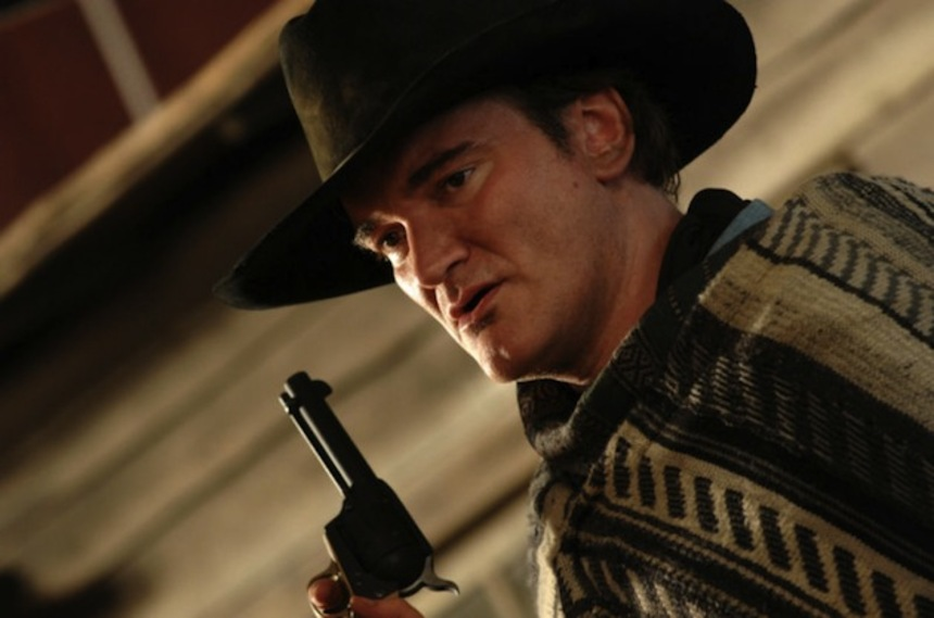Tarantino Talks To Leno About His New Western