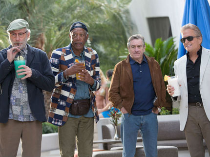 Review: LAST VEGAS, Elevated By Actors Who Earn Their Money The Old-Fashioned Way