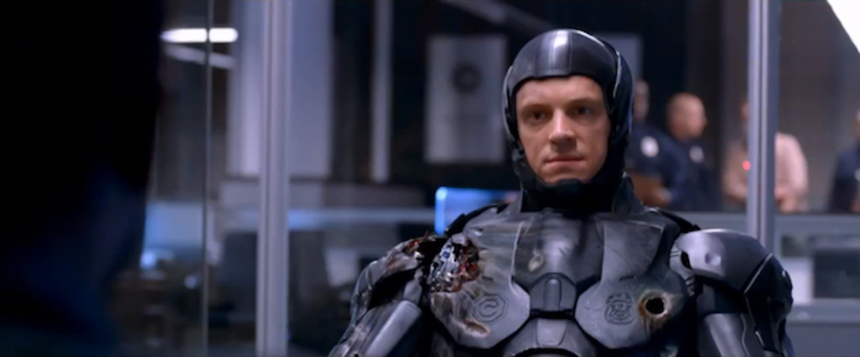 "ROBOCOP: America Is ""Robo-Phobic"" States New Trailer. Then Things Go Boom"