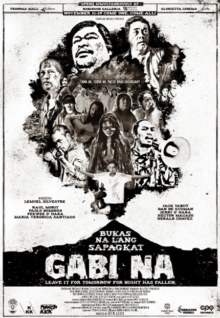 CinemaOne 2013: Jet Leyco's BUKAS NA LANG SAPAGKAT GABI NA (LEAVE IT TOMORROW FOR NIGHT HAS FALLEN) is a Powerful Document on the Philippines' Culture of Censorship