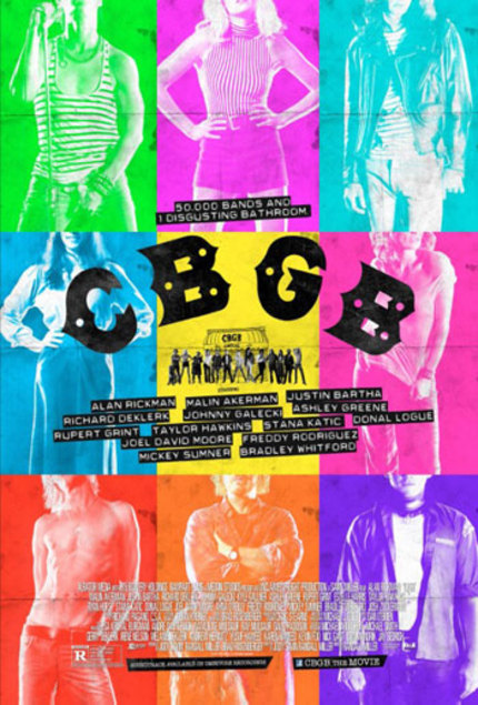 Win 1 Of 5 Signed Posters And Blu-rays From CBGB And Xlrator!