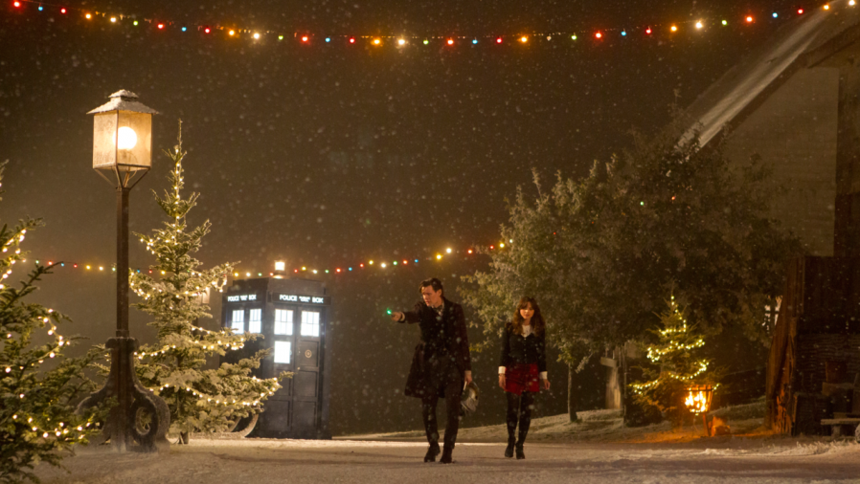review doctor who the time of the doctor or farewell to matt smith as the christmas - Why Is It Called Christmas