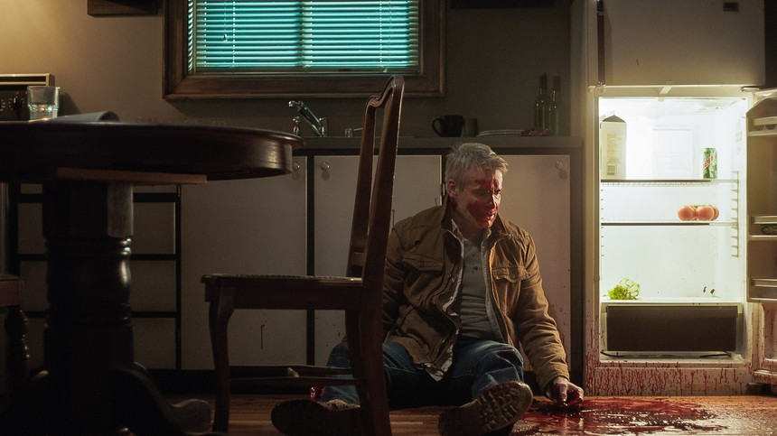 HE NEVER DIED But He Sure Got Bloody. Check The First Official Still From The Henry Rollins Starring Film.