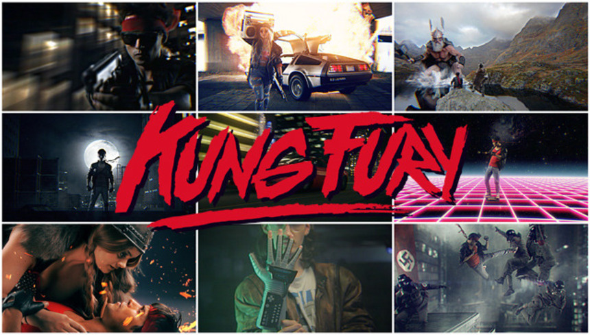 Tremble Before The Awesome Power Of KUNG FURY! And Then Give Him Your Money.