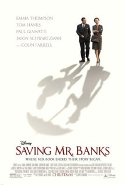 "Review: SAVING MR. BANKS Banks on ""Mary Poppins"" Goodwill"