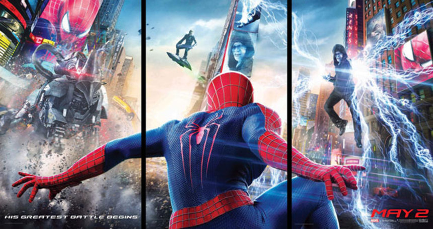 A Trio Of AMAZING SPIDER-MAN 2 Big Game Spots