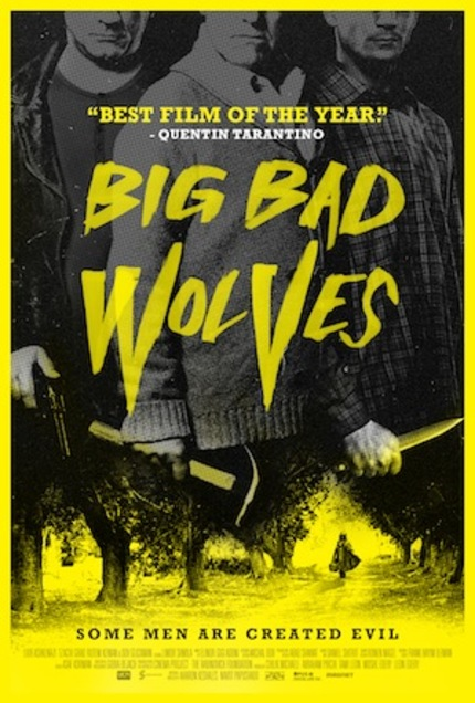 Review: BIG BAD WOLVES, A Black-Humored Psychological Thriller